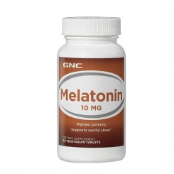 GNC Melatonina 10mg (Insônia)