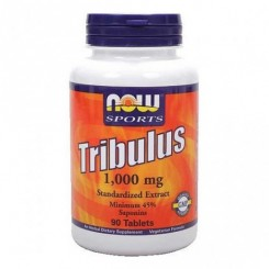 Tribulus Terrestris 1000mg NOW (Estimulante Feminino e Masculino)