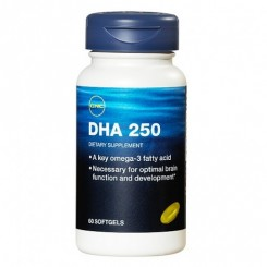 GNC DHA 250mg Ômega-3 (Saúde do Cérebro)