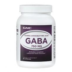 GNC GABA 750mg (Ácido Gama Aminobutírico)