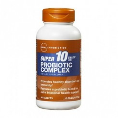 GNC Complexo Probióticos 10 Bilhões de Microorganismos/10 UFC (Flora Intestinal)
