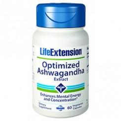 Ashwagandha 125mg (Humor, Sono, Saúde Mental) Life Extension