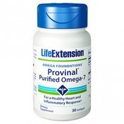 Omega-7 Purificado 210mg (Ácido Graxo) Life Extension