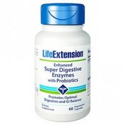 Super Enzimas Digestivas (Amilase, Protease e Lipase) Life Extension
