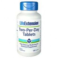 Two-Per-Day Tablets (Multivitamínico Completo) Life Extension