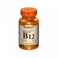 Sundown Vitamina B-12 6mg (Sublingual)