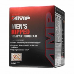 GNC Men's Ripped Vitapak Masculino AMP (Definição Muscular)
