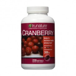 Cranberry/ Oxicoco 300mg Trunature (Diurético) 220 Cápsulas