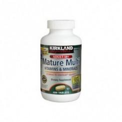 Multivitamina Diaria 50 Plus Kirkland Adultos Acima dos 50