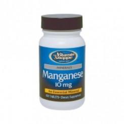Manganês 10mg (Saúde dos Ossos) Vitamin Shoppe