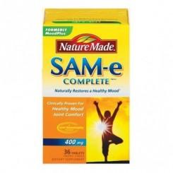 SAM-e 400mg Nature Made  (Anti-Depressivo + Articulações) 60 Cápsulas