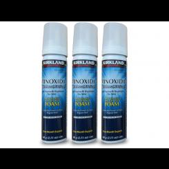 Minoxidil Mousse (Tratamento Calvície e Crescimento Capilar) Kirkland 3x60g