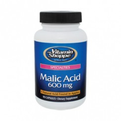 Ácido Málico 600mg Vitamin Shoppe