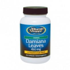 Damiana Extrato 450mg (Turnera Diffusa) Vitamin Shoppe