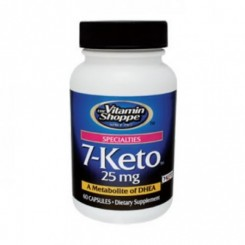 7-KETO DHEA 25mg (Emagrecedor Natural) Vitamin Shoppe