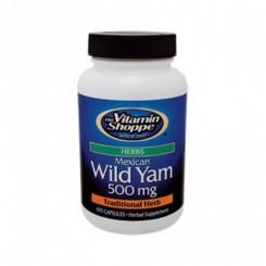 Yam Mexicano 500mg (Dioscorea Villosa) Vitamin Shoppe