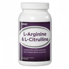 GNC Citrulina Malato 500mg + L-Arginina 500mg