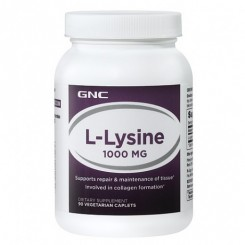 GNC L-Lisina 1000mg