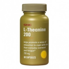 GNC L-Teanina 200mg (Relaxamento Natural)