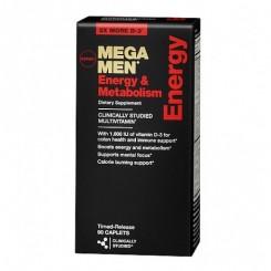 GNC Mega Men Energy (Multivitaminico Masculino p/ Energia & Metabolismo)