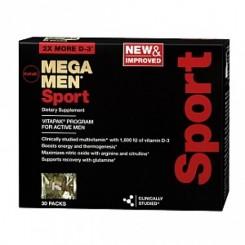 GNC Mega Men Vitapak Sport (Plano Nutricional p/ Homens q/ Praticam Esportes)