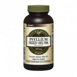GNC Psyllium Husk 500mg Fibra Natural (Regulador Intestinal)