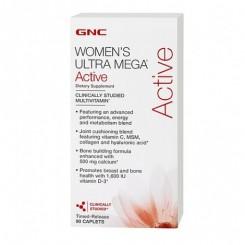 GNC Womens Ultra Mega Active (Multivitamínico p/ Mulheres Ativas)