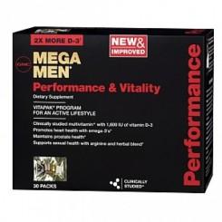 GNC Mega Men Vitapak Performance (Plano Nutricional p/ Virilidade & Desempenho Masculino)