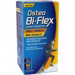 Osteo Bi-Flex Força Tripla c/ Vitamina-D  (Saúde das Articulações) 80