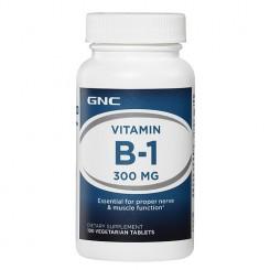 GNC Vitamina B-1 300mg (Tiamina: Ação Repelente)
