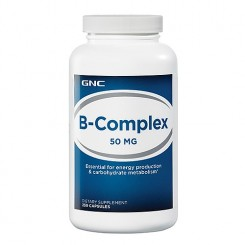 GNC Vitamina Complexo-B 50mg (Energia + Anti-Stress)