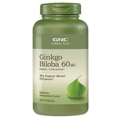 GNC Ginkgo Biloba 60mg (Memória Saudável)