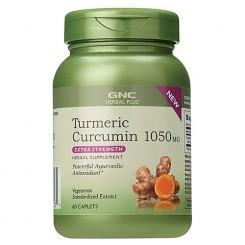 GNC Curcuma (Curcumina Turmérico) Dosagem Extra 1050mg