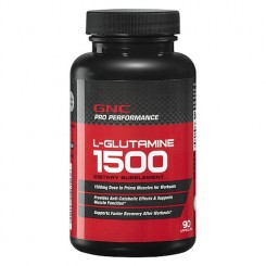 GNC L-Glutamina 1500mg (Pro Performance)